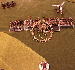Turn 1b - Ogres - Scrap launcher hits but scatters just enough..JPG