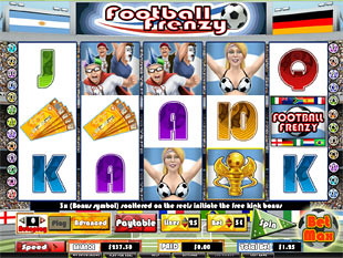 Football Frenzy slot game online review