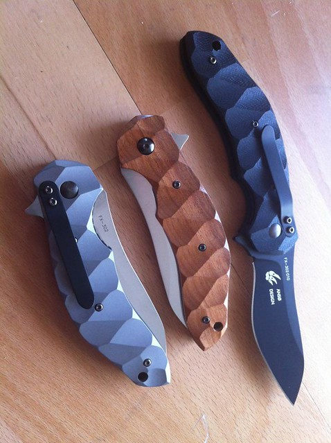 Fox Knives x Jens Anso Flipper