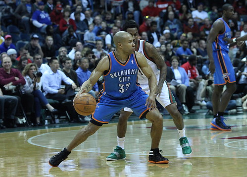 Derek Fisher, Oklahoma City Thunder