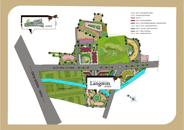 Kolte-Patil Downtown - Langston, 2 BHK Flats, for All Inclusive Property Price of Rs. 62 Lakhs Onward, at Kharadi, Pune 411014 - 5