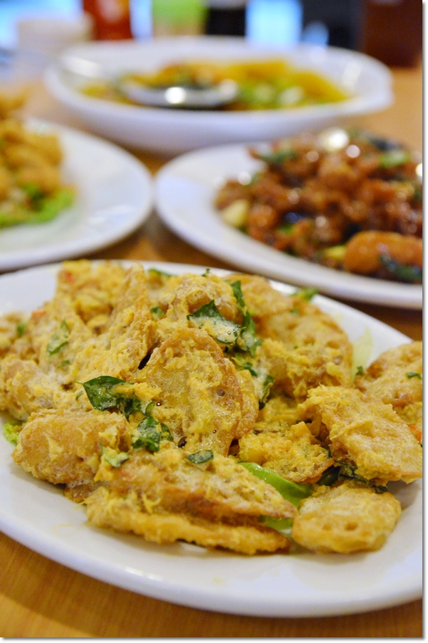 Salted Egg Lotus Roots