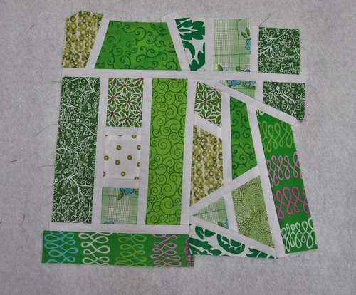 Kiwi Green Mod Mosaic Block