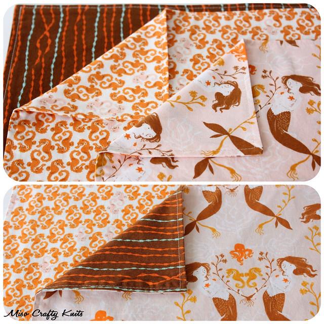 Mendocino Handkerchiefs - Reversible