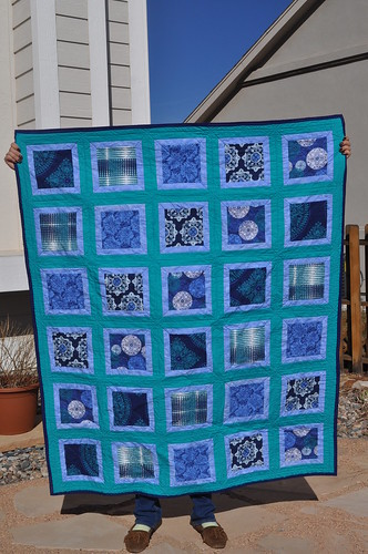 Julie's Quilt ~ The Front