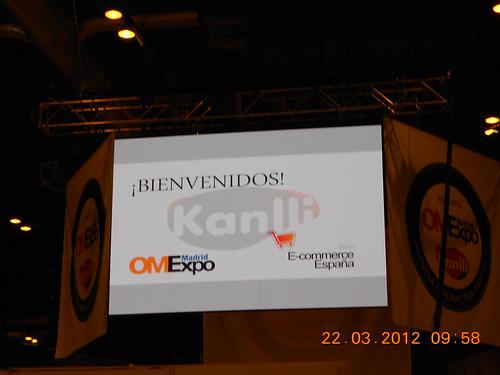 Videomarcador OMExpo Madrid 2012