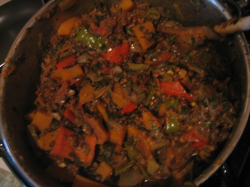 IMG_4304 Black lentil butternut curry cooked in pot