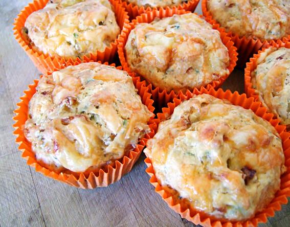 Kaas ui muffins