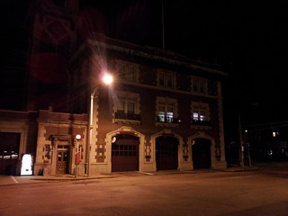 Brookline fire station