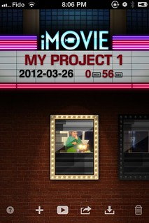 iMovie for iPhone