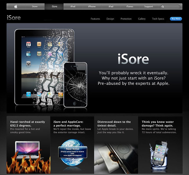 Say Hello To Apple iSore
