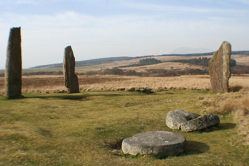 Machrie Moor Prehistoric Site, Isle of Arran, Scotland