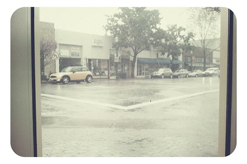 Downpour on North Main Street