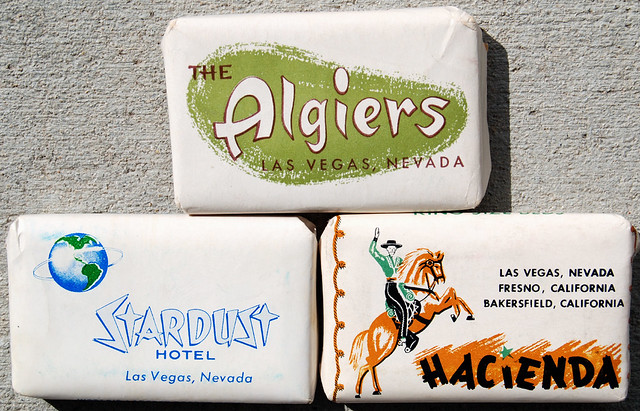 Vintage Soap from Las Vegas, 1960