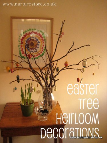 heirloom Easter eggs