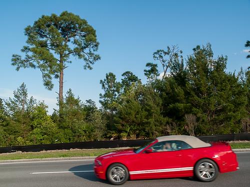 The Speeding Car