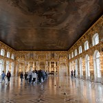 Tsarskoïe Selo - Salle de bal
