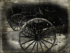 Amish Carts Grunge effect