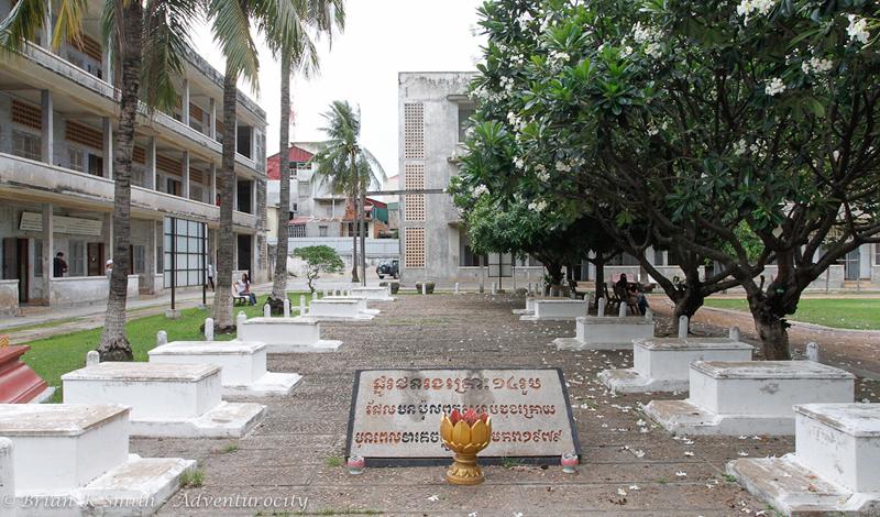 Tuol Sleng Genocide Musuem gravesite
