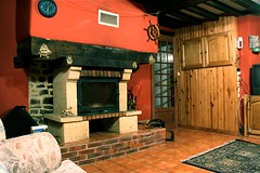 The fireplace - Photo of Chevry