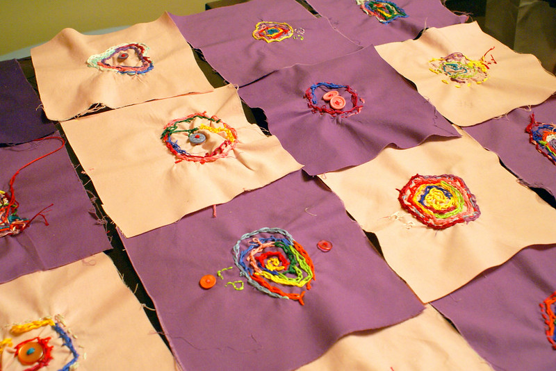 pre-school quilt blocks