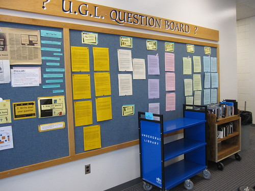 QB questions can be read in person at the QB board on the lower level.