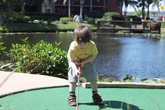 lawn(0.0), backyard(1.0), play(1.0), leisure(1.0), miniature golf(1.0),