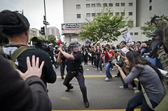 May Day Downtown Los Angeles