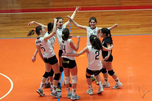 Voleibol Juniores Femininos: Vitória SC 3-2 Colégio Rosário