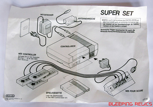 NES Super Set diagram