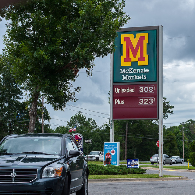 Gas Price Tallahassee Florida, 23 June 2012
