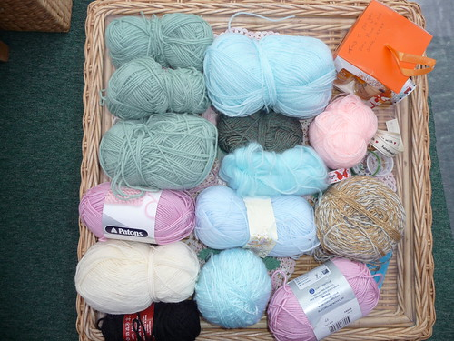 Jennifer (Care home) Donation of yarn to SIBOL. Thank you!
