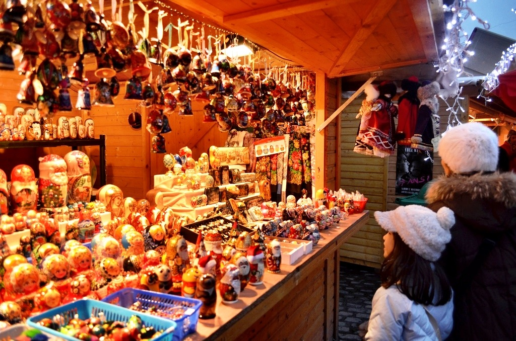 Christmas Market, Brussels