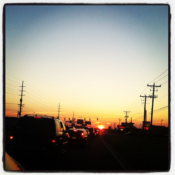 Sunset in Rehoboth