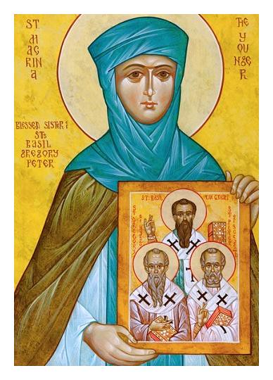 Saint Macrina the Younger dans immagini sacre 7471249054_d42c5360be_z
