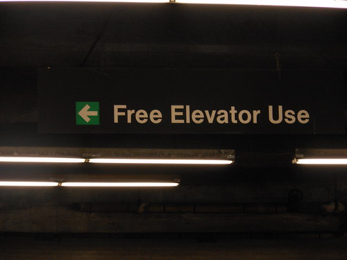 Should one charge for an elevator?