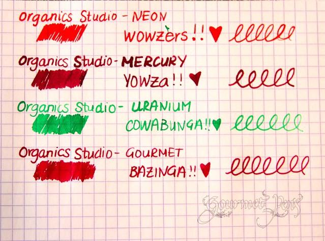 Organics Studio Inks