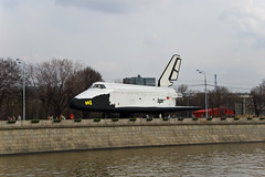 Buran russian spacecraft