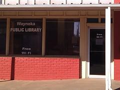 Waynoka library