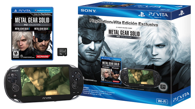 MGS PS Vita Bundle Render