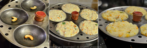 How to make rava idli - Step4