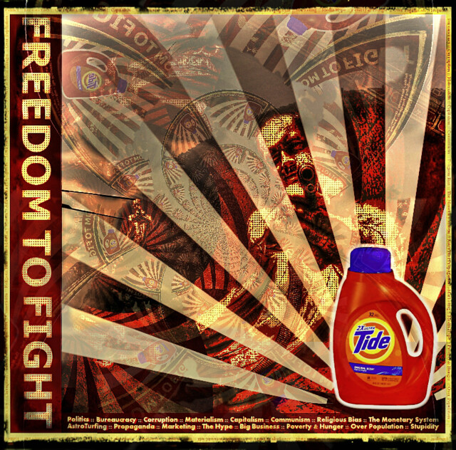 FREEDOM TO FIGHT: Protest Against the Rising Tide...