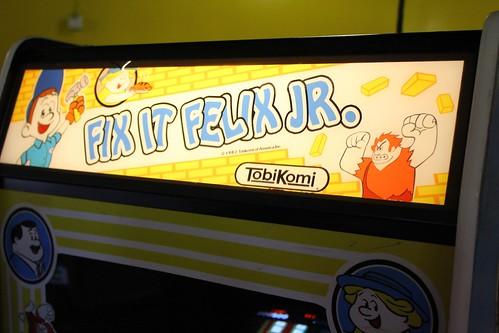 Fix-It Felix arcade game for Disney's Wreck-It Ralph