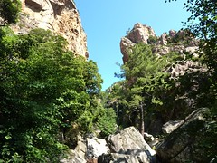 Remontée du Carciara : arrivée à l'entrée du canyon