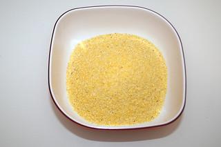 14 - Zutat Maisgriess (Polenta) / Ingredient polenta
