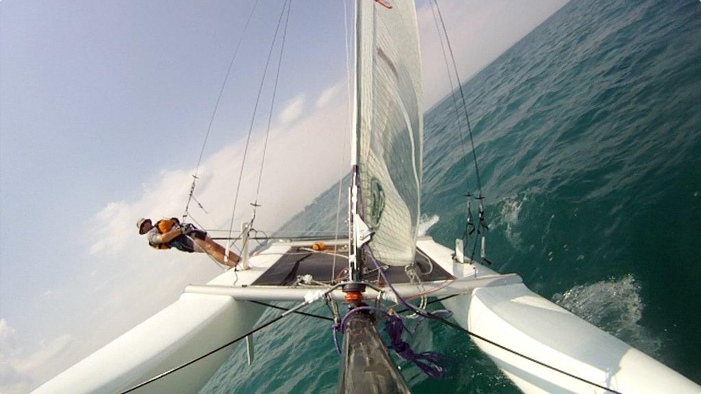 "The ""Best"" single-handed cat :: Catamaran Sailboats at"