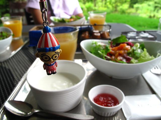 朝食と太郎