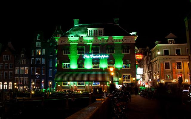 Grasshopper Amsterdam Food Menu