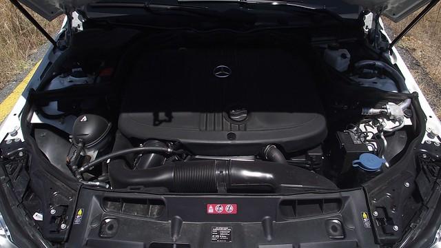 Prueba Clase C Coupe 220 cdi interiores (20)