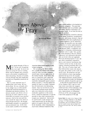 From Above the Fray